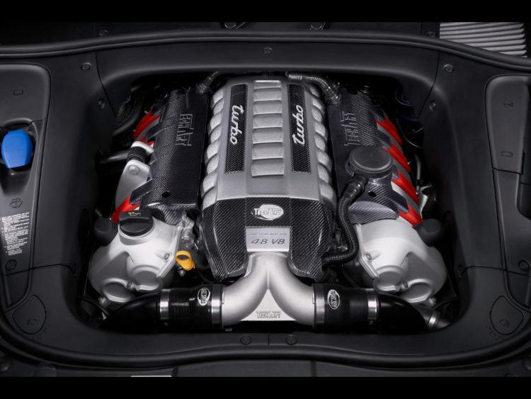 Мотор Porsche Cayenne