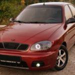 Автомобиль Chevrolet Lanos седан